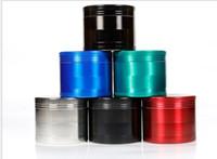 Venta caliente - Aleación de zinc multicolor de 55 mm 63 mm 75 mm 4 - Amoladora de cigarrillos de capa