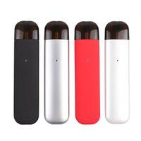 Cigarrillo electrónico vainas vape vaporizador pluma plana bolígrafo cerrado sistema del sistema e kit de inicio para fumar 350 mah recargable e cig 1.2 ml pluma vape