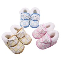 14e48712253c Wholesale new style girl flat shoes online - 5 Styles New Baby Shoes Spring  Warm Soft