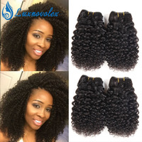Brazilian Virgin Hair Jerry Curly Weave 4 Bundles Unprocesse...