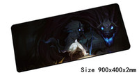 Tapis de souris Kindred 900x400mm pad souris lol notbook ordinateur mousepad Tapis de souris Eternal Hunters gaming padmouse