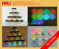 Lippenstift pigment, hars fluorescerend pigment, gloed in het donker poeder pigment, gratis verzending, gratis verzending per singapore post.