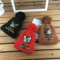 Baby Kids Hats Newest Autumn Winter Infant Baby Warm Kitty P...
