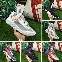 2018 X UNDERCOVER x Prochainement React Element 87 Pack White Sneakers Marque Hommes Femmes Formateur Hommes Femmes Designer Chaussures de course Zapatos 36-45