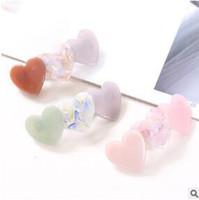 DIY Liebevolles Herz Rundheit Essigsäure ENTE CLIP Prise Cock Multi Haarnadeln Haarschmuck Werkzeuge Free-shipping