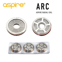 100% originale Aspire ARC Coil Per Revvo serbatoio nuovo design 0.10-0.16ohm utilizzando AF filo trasporto libero