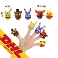 4- 6cm 5pcs lot Finger Doll PVC Five Nights At Freddy' s ...