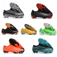 Botas de fútbol de tobillo bajo para hombre original CR7 Mercurial Vapor  360 SHHH FG Zapatos a58565650d8