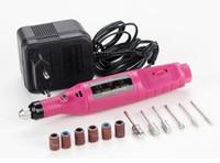 طحن آلة القلم مصغرة الكهربائية ساندر آلة الصنفرة جاندام مسمار أدوات تلميع جودة عالية مسمار الفن مجموعات الشحن المجاني