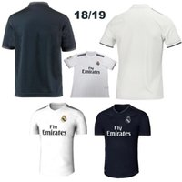 2018 Thai Quality Reals jersey Madrid 18/19 Ronaldo jersey de fútbol MODRIC BALE KROOS ISCO BENZEMA JAMES Home Visitante 3rd football shirts Camisa