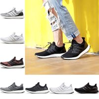 Adidas Ultra Boost 3.0 4.0 Ultraboost the details page for more logo Designer Running Shoes Hombres Mujeres Triple Negro Blanco Crimson Orbit Spirit Fashion Sport Sneakers 5.5-11 Al por mayor