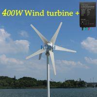 400W 12V / 24V do użytku domowego Streetlight and Yacht Energia elektryczna Pilna elektrownia z bezpłatnym sterownikiem