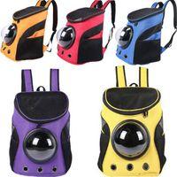 New Bag Carrier Design Cat Travel Dog Space Space PET VIAJE Llevar Portable Hombro Portátil Mochila en forma de Cápsula Ttoal