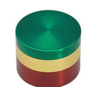 Accendisigari affumicato multicolor fumè affumicato multicolor con piatto piatto 4 livelli 52MM