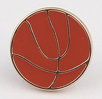 Noosa 18mm Basketball image Snap Interchangeable Metal Snap ...