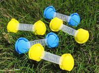 spedizione gratuita porta cassetto armadietto toilette serrature di sicurezza bambino bambini sicurezza cura di plastica serrature cinghie protezione del bambino neonato