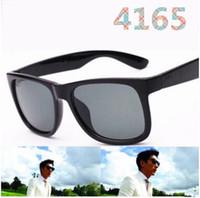 Hohe Qualität 4165 Sonnenbrille Männer Frauen Marke Designer Sonnenbrille Flash Spiegellinsen