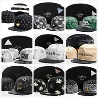 ca7b713e3ed Wholesale snap cap brooklyn online - New Leather Cayler Sons Hat Snapback  Baseball Caps Adjustable BROOKLYN