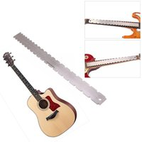 1Pcs Guitar Fingerboard Ruler Silver Stainless Steel Guitar ...