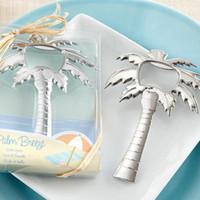 Серебряное золото вино пиво шампанское открывалка для бутылок кокосовое дерево в форме открывалка для бутылок