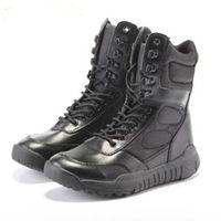 كبيرة الحجم 36-44 الرجال القتالية الأحذية الأحذية الذكور التكتيكات الأحذية الصحراء الأحذية التمويه العسكرية التكتيكية الأحذية