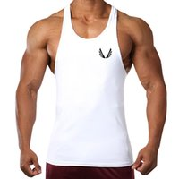 Fashion  High quality Vest Bodybuilding Tank Tops Men Fitness Singlets Golds Gyms Clothing Mens Sleeveless Shirt