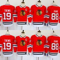 Chicago Blackhawks Jerseys 88 Patrick Kane Jerseys 19 Jonathan Toews Blank  Home Red Kids Ice Hockey Jersey Men Women Youth Ladies Boys Girls 463296548