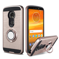 for Moto E5 Plus LG Q7 Case with Ring Holder Kickstand Funct...