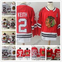 New Brand Mens Youth Womens #2 Duncan Keith 7 Brent Seabrook 10 Patrick  Sharp 50 Corey Crawford Red White Chicago Blackhawks Hockey Jerseys