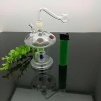 Glass mute Hookah, color random delivery, Water pipes, glass...