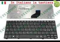 Nuova tastiera portatile per Acer Aspire One D255 D260 521 533, Gateway LT22 Nero opaco Versione IT italiana - NSK-AS40E