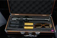 Wicked puissance pointeur laser vert indiquant l'enseignement entraîneur lampe de poche auto-défense Voyage de 50000m Power Bank