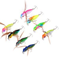 8- color 4. 5cm 3. 6g Bee Hard Plastic Lures Fishing Hooks Fish...
