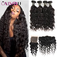 Wholesale brazilian hair vendors for sale - Onlyou Unprocessed Brazilian  Virgin Human Hair Bundles with Closure cf3c14d941