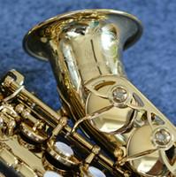 Yeni Yanagisawa SC-991 Soprano Saksafon Yüksek Kalite Pirinç Altın Kaplama Müzik Aletleri Sax Ile Kılıf Ağızlık Ücretsiz Kargo
