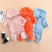 Baby Clothes Cotton Hoodie Tops+ Pants Leggings 2pcs Cute Let...