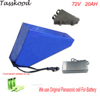 Super power triangle 72v 2500w electric bike battery with ba...