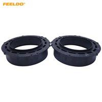 FEELDO 2X 6.5 Polegada Do Carro Speaker Spacer Chifre Pad Montagens Para VW Magotan / Touareg / Tiguan / Passat B7 Para Skoda Octavia Para Opel Mat Solid # 5521