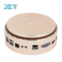 Round Gold Mini PC Intel i3 4025U i5 4260U i5 5250U i7 5500U...