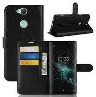 Phone Bags & Cases Cellphones & Telecommunications Flip Leather Wallet Case For Sony Xperia Xz3 Xa3 Xz2 Xa2 Xa1 Xz1 Compact Ultra Xz Z3 Plus Z5 Premium L1 L2 Phone Coque Funda Yet Not Vulgar