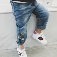 Fashion Baby Boys Girls Jeans For Kids Pants Children Clothi...