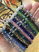 cristal bracelet de mode Creative chaîne de téléphone mobile pur strass tissé à la main courte lanière clé bracelet pendentif téléphone mobile