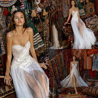 Liz Martinez 2019 Fairy Wedding Dresses A Line Sweetheart Ap...