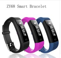 NEW ZY68 Smart Band Bluetooth 4. 0 Wristband with Heart Rate ...