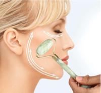 10 قطع أدوات الملكي اليشم الرول مدلك التخسيس الوجه تدليك الوجه أدوات قدم رئيس الجسم الاسترخاء تدليك أدوات الصحة