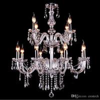 Благородный Роскошный Экспорт K9 Прозрачные Хрустальные Люстры светильники стеклянный шар свет подвесной светильник Дополнительные Люстры De Cristal Люстры