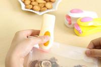 Bolsa Selladora de calor Máquina portátil de sellado térmico Selladora de impulso Sellado Embalaje Kit de bolsa de plástico para ahorro de alimentos