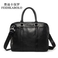 FEIDIKABOLO Famous Brand Business Men Briefcase Bag Man Shou...