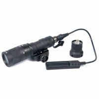 Тактический M300v тактический фонарик с постоянным стробоскопом мгновенный выходной факел для 20 мм Picatinny Rail