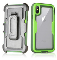 For Iphone XS XR Case Defender Case 3in1 Clear High Impact H...